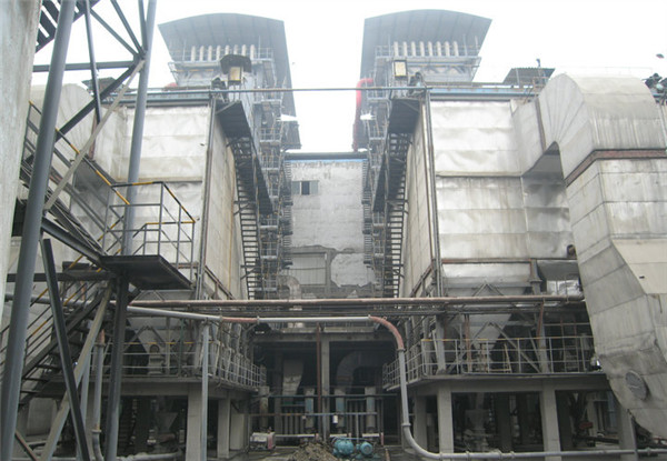 Biomass power plant boiler image